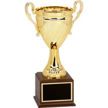 "14"" Open Metal Cup Trophy"