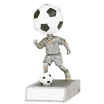 Soccer Bobblehead - Soccer Trophy Bobblehead