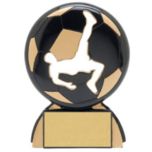 Soccer Trophies - Male Soccer Shadow Resin Award
