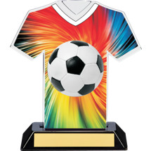 "Soccer Trophy - 7"" Soccer Jersey Trophy"