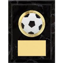 Soccer Plaque - Black Soccer Plaque