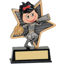 Cheer Trophy - Little Pal Cheer Resin Award