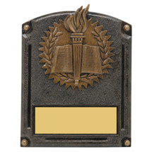 "Education Trophy - 5 x 6 1/2"" 3D Shadow Award"
