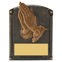 Praying Hands Trophy - 6 x 8