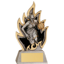 Basketball Ignite Resin Trophy - Female