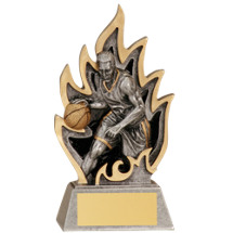Basketball Ignite Resin Trophy - Male