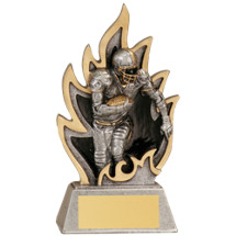 Football Ignite Resin Trophy - 5 1/2""