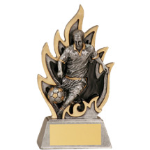 Soccer Ignite Resin Trophy - Male - 5 1/2""
