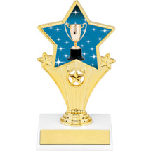 Achievement Super Star Trophy - 7""