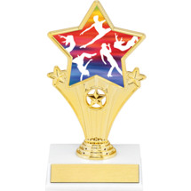 Dance Super Star Trophy - 7""