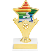 Education Super Star Trophy - 7""