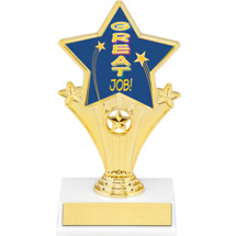 Great Job Super Star Trophy - 7""