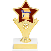 Honor Roll Super Star Trophy - 7""