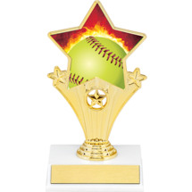 Softball Super Star Trophy - 7""