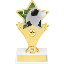 Soccer Super Star Trophy - 7""
