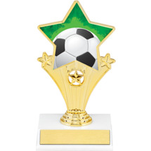 Soccer Super Star Trophy