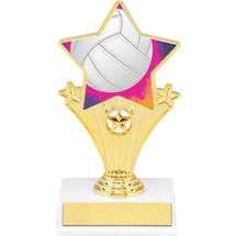 Volleyball Super Star Trophy - 7""