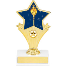 Victory Resin Super Star Trophy - 7""