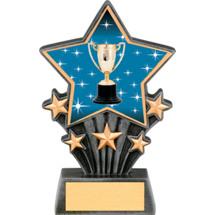 "Achievement Resin Super Star Trophy - 6 1/2"""