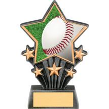 """Baseball Resin Super Star Trophy - 6 1/2"""""""