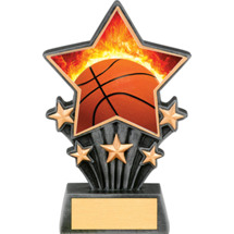Basketball Resin Super Star Trophy