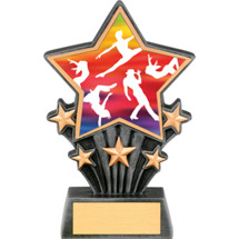 Dance Resin Super Star Trophy - 6 1/2""