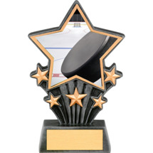 Hockey Resin Super Star Trophy - 6 1/2""