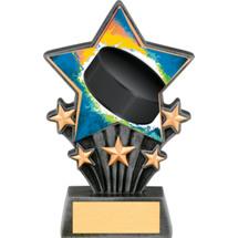 "Hockey Resin Super Star Trophy - 6 1/2"""