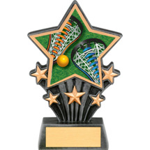 Lacrosse Resin Super Star Trophy - 6 1/2""