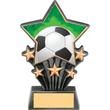 Soccer Resin Super Star Trophy