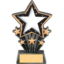 Star Resin Super Star Trophy - 6 1/2""