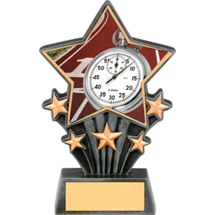 Track Resin Super Star Trophy - 6 1/2""