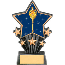Victory Resin Super Star Trophy - 6 1/2""