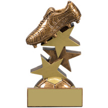 Soccer Trophy - Soccer Star Step Resin Trophy