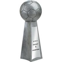 Resin Championship Soccer Trophy
