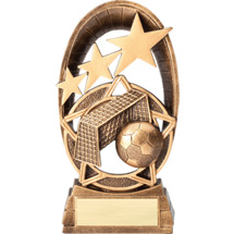 Soccer Radiant Resin Trophy