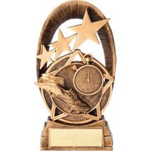 """Track Radiant Resin Trophy - 6 1/2"""""""