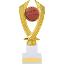 Basketball Trophy - Large Basketball Falcon Riser Trophy