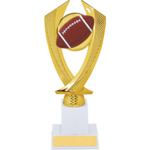Football Trophy - Large Football Falcon Riser Trophy