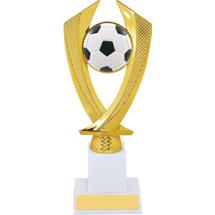 Soccer Trophy - Large Soccer Falcon Riser Trophy