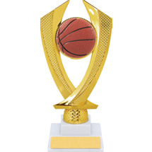 Basketball Trophy - Medium Basketball Falcon Riser Trophy