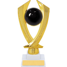 Bowling Trophy - Medium Bowling Falcon Riser Trophy