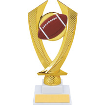 Football Trophy - Medium Football Falcon Riser Trophy