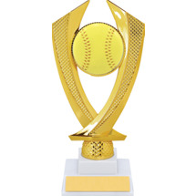 Softball Trophy - Medium Softball Falcon Riser Trophy