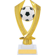 Soccer Trophy - Medium Soccer Falcon Riser Trophy