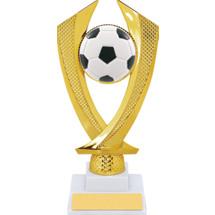 Soccer Trophy - Medium Soccer Falcon Riser Trophy
