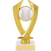 Baseball Trophy - Small Baseball Falcon Riser Trophy