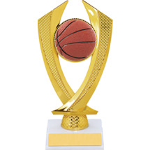 Basketball Trophy - Small Basketball Falcon Riser Trophy