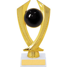 Bowling Trophy - Small Bowling Falcon Riser Trophy
