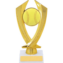 Softball Trophy - Small Softball Falcon Riser Trophy